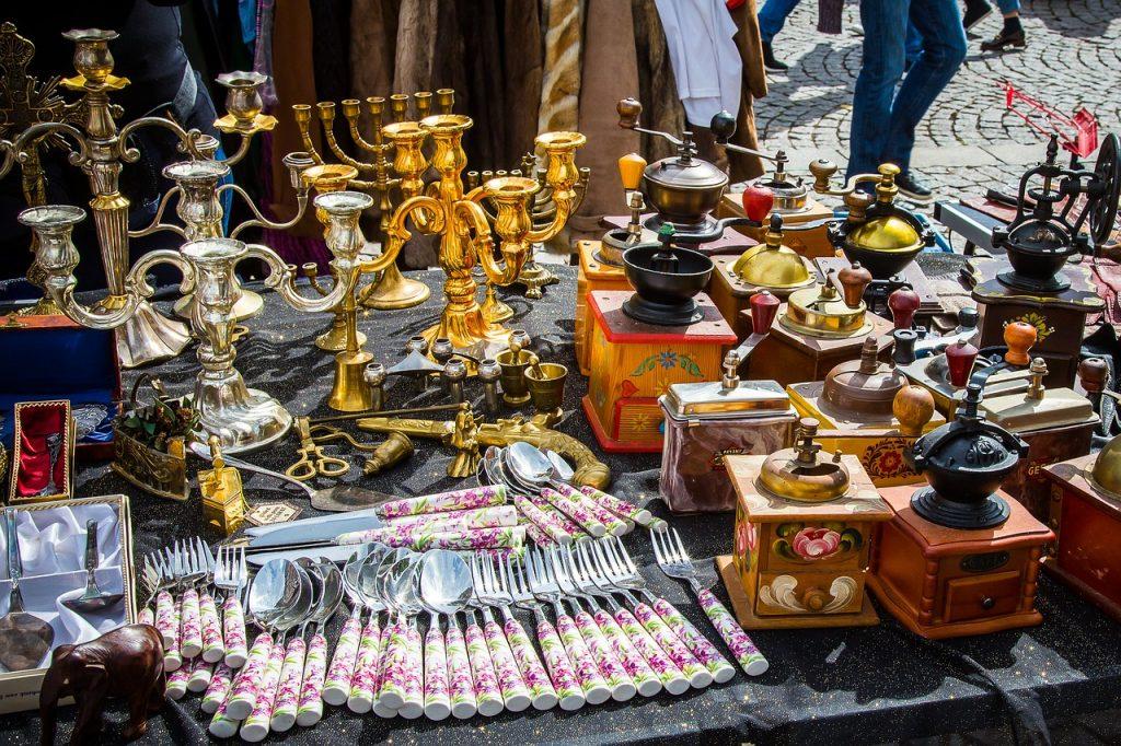 Le marché aux puces de Saint-Ouen